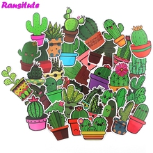Album Sticker Toy Stationery Car-Label Diary Mobile-Phone Cactus R506 DIY Waterproof