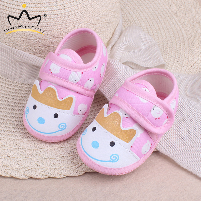 0 24 Months Spring Summer Baby Shoes Soft Cotton Toddler Shoes Anti Slip Soled Baby Boy Girl Crib Shoes Boys Girls First Walkers|First Walkers| |  - title=