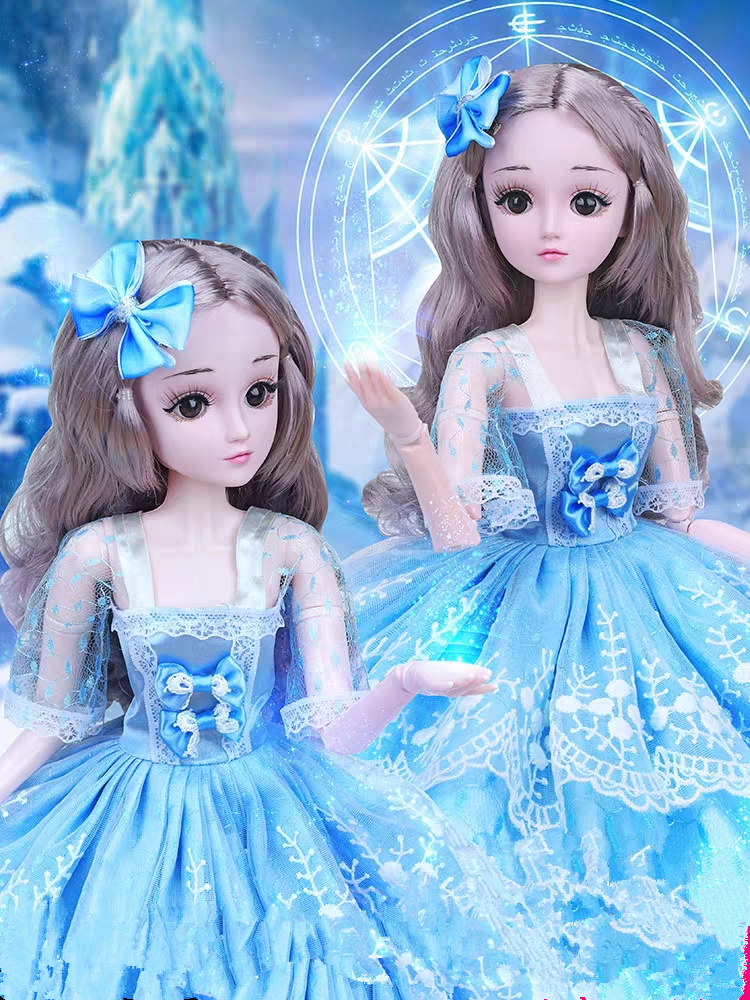 60cm Bjd Doll Fashion Girl doll Movable Joints Romantic Princess Realistic Baby Dolls For Girls Toys For Children Birthday Gifts