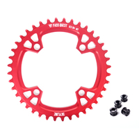 PASS QUEST 104BCD 32T 48T Cycling Chainring Round MTB Bike Chainwheel Crankset Plate BCD 104mm