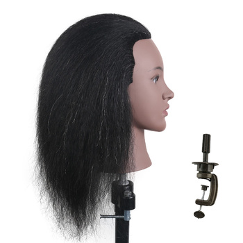 Hairdressing-Head Mannequins Female Mannequin Head Black Women Mannequin Heads Hair Styling Doll Head Hair Training Heads practice braiding mannequin head with hair black training head hair doll head mannequins for sale hairdressing head female