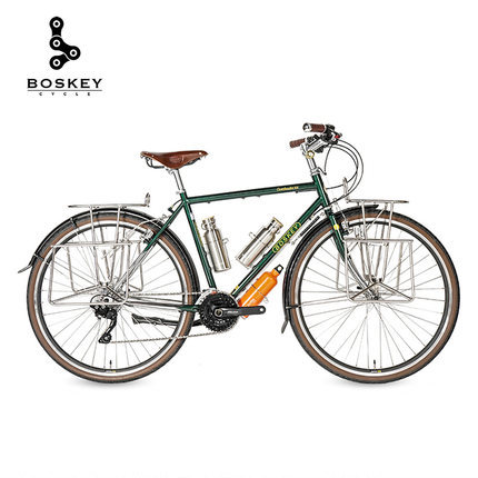 Undead Ride Boskey Travel Car Steel Frame Bicycle Long Distance Travel High Load-Bearing Comfortable Retro Men And Women Speed C