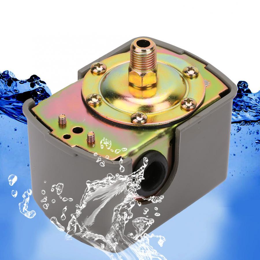 Su basınç anahtarı 0.8-5.0 bar ayarlanabilir çift yay direği G1/4
