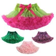 Meninas tutu verde pettiskirt santa tutu saia meninas traje de natal saia petti saia de dança menina crianças roupas crianças vestir