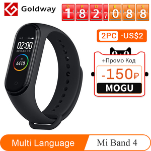 Image 1 - Xiaomi Mi Band 4 Smart Bracelet 3 Color AMOLED Screen Miband 4 Smartband Fitness Traker Bluetooth Sport Waterproof Smart Band