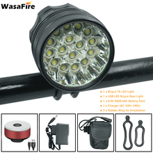 40000lm 16*T6 LED Bicycle light Cycling Front