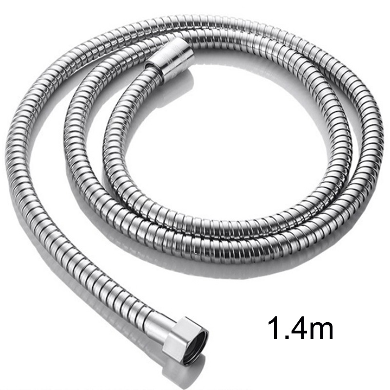 Shower Hose Pipes Fittings Bathroom Accessories Shower Holder Water Pipe For Bath Stainless Steel Shower Head