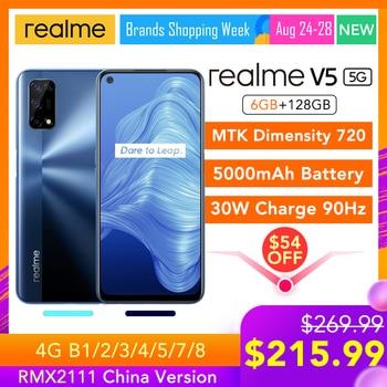 realme V5 5G 6GB RAM 128GB ROM Helio 720 90Hz Display 30W Flash Charge 5000mAh 48MP Camera Support Multi Language Play Store
