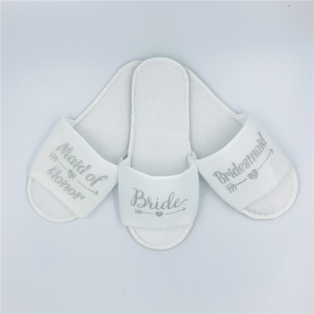 Bridesmaid Spa Soft Slippers for Bridal Shower  1