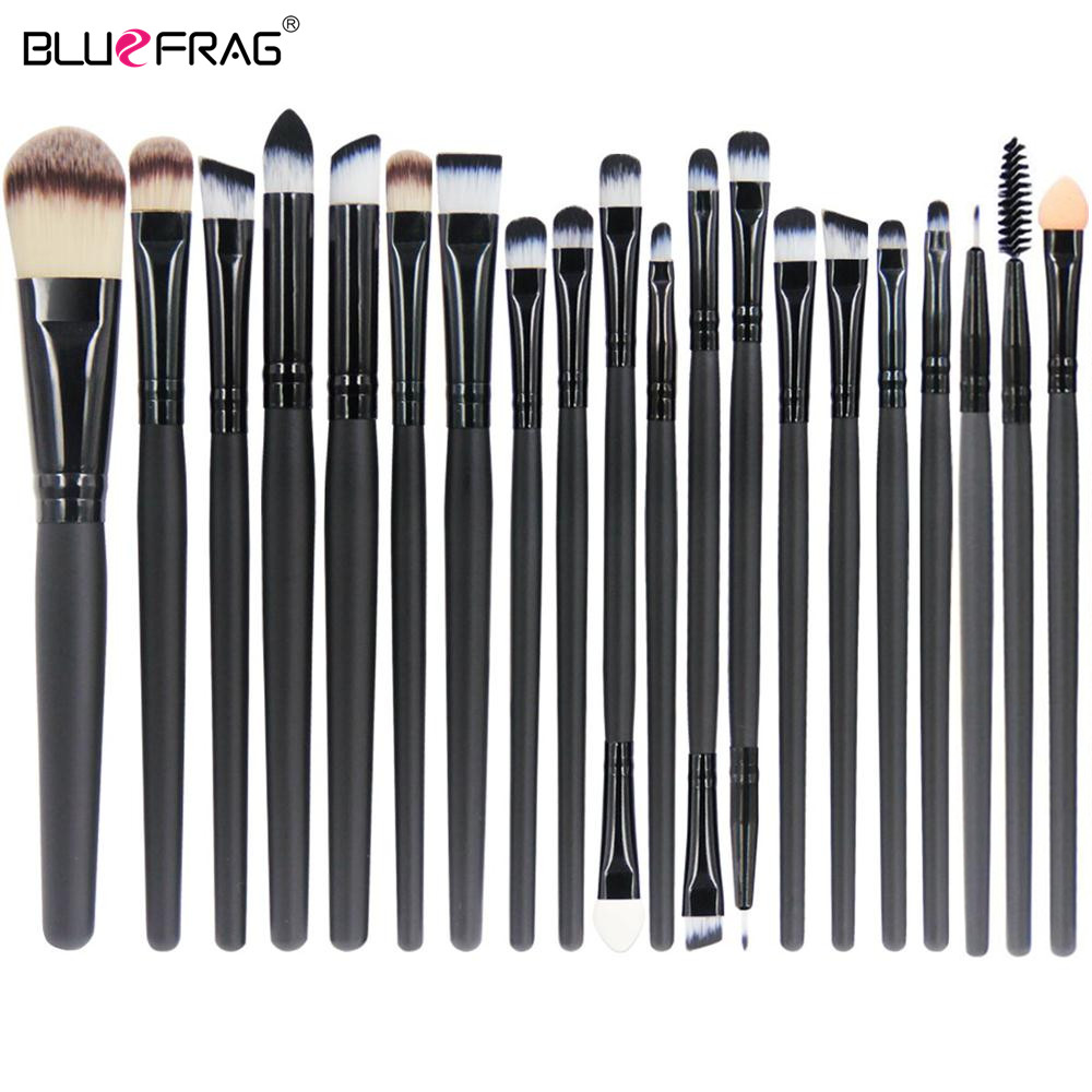 Hot Makeup Brushes Set 20/18/15/2Pcs Eye Shadow Foundation Powder Eyeliner Eyelash Lip Make Up Brush Cosmetic Beauty Tool Kit