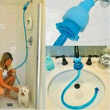 Спринклер, ручной промывочный шланг, насадка для домашних собак, душ для мытья собак, универсальный разъем для мытья собак, силиконовая трубка