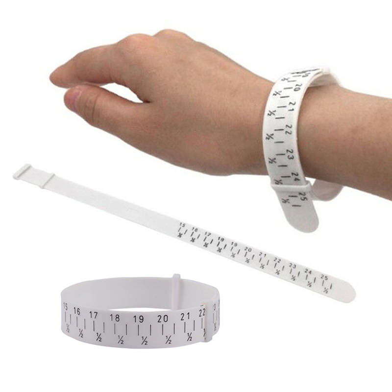Professional Plastic Bracelet Bangle Gauge Sizer Jewelry Measure Wrist Size Tool For 15-25cm Jewellery Making Tools For Jewelers