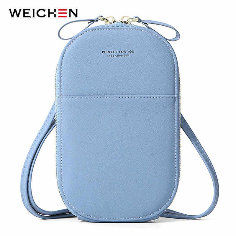 WEICHEN Mode Sommer Kleine Schulter Taschen für Frauen 2020 pu Leder Telefon Tasche Weibliche Messenger Umhängetasche Damen Hand tasche