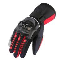 Motorcycle Cycling Winter Gloves Skiing Warm Windproof Mittens Waterproof Thick Touch Screen Outdoor Gloves Guantes Ciclismo