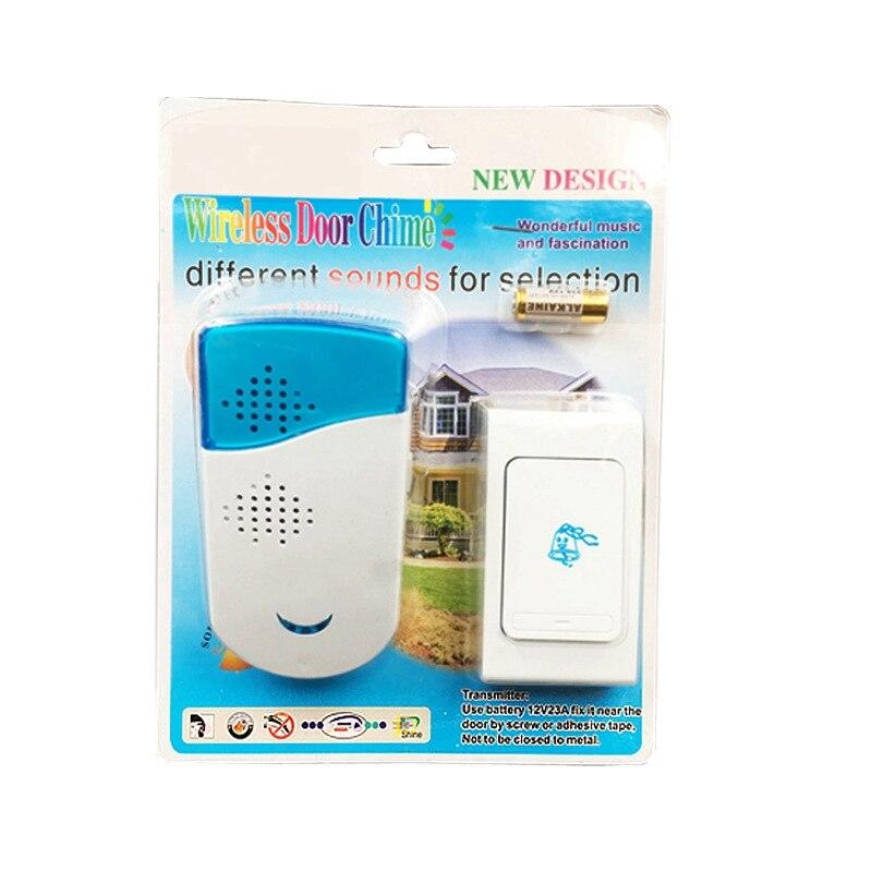 Купить с кэшбэком Wireless Doorbell Gate Alarm Doorbell Stable Sensitivity Smart Home Battery Chime Doorbell Intercom System 12 Tune Songs