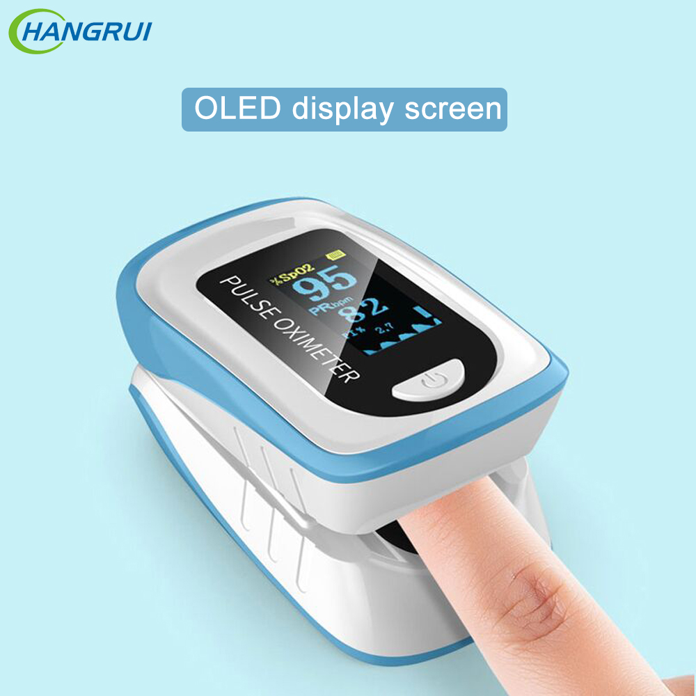 Digital Fingertip Pulse Monitor Oximeter OLED Oxygen Meter Clip Blood Oxygen Saturation Meter Home Family Finger Pulse Oximeters