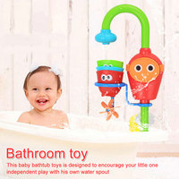 Children's bathroom tub play water manual faucet shower shower baby play water spray toys