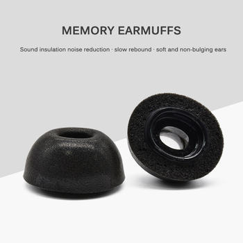 1 Pair/Lot Earphone Earplug Memory Foam Replacement Ear Tips Buds For Airpods Pro Noise Reduction Earplugs Headphones image