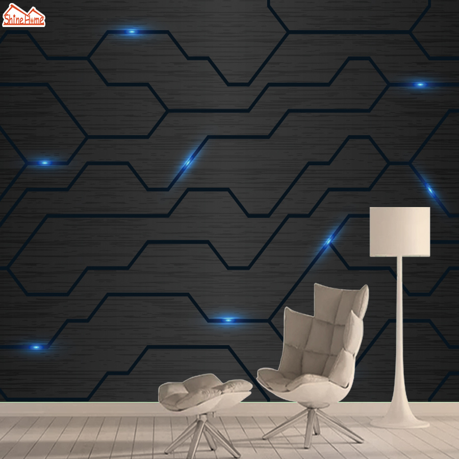 3d Wallpapers For Mural Rolls Walls Living Room Wallpaper Wall Paper Papers Home Decor Abstract Black Line Bedroom Background