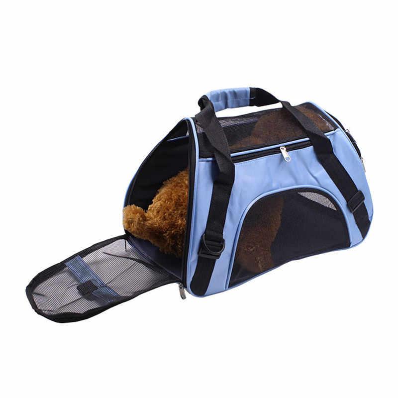 Draagbare Reizen Pet Carrier Voor Kat Hond Rugzak Carrying Handtas Kleine Hond Schouder Sling Bag Voor Puppy Kitten Chihuahua Dier