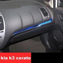 Lsrtw2017 – Console centrale de tableau de bord pour voiture, accessoires pour Kia K3, Cerato, 2012, 2013, 2014, 2015, 2016, 2017, 2018