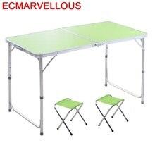 Piegevole Pliante Ouro Tisch Meja Makan Обеденный набор, уличная мебель, стол, Складывающийся, обеденный стол