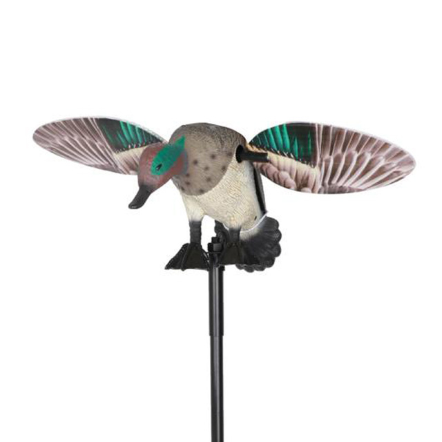 Vivid Motion  Decoy Hunting Spinning Wing Mallard Drake Female Duck Garden Pond Decor Teal Toy with Remote 6