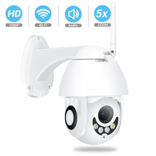 BESDER cámara de seguridad PTZ con WiFi para exteriores, dispositivo de seguridad con Zoom automático, detección de movimiento, luz Dual, ranura para tarjeta SD, CCTV, 1080P, 960P