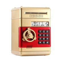 Box Banknot Savings Teller-Machine Cash-Coin Piggy-Bank Safe Password-Money Electronic