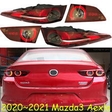 سيارة سيدان استخدام 2020 ~ 2021y الذيل ضوء لمازدا 3 Mazda3 Axela الضوء الخلفي LED اكسسوارات السيارات Taillamp ل mazda3 الضباب الخفيف الخلفي