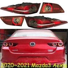 セダン車の使用 2020 〜 2021yテールライトマツダ 3 Mazda3 アクセラテールライトledカーアクセサリーmazda3 のためのテールランプリアライト曇