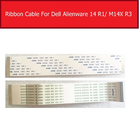 <font><b>Touch</b></font> Panel Connector Flex Ribbon Cable For DELL Alienware <font><b>14</b></font> R1 M14X R3 PN NBX0001AG00 Keyboard-Touchpad Junction Board image