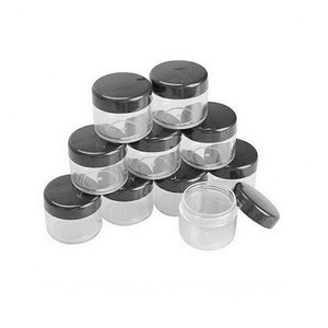 Image 5 - 10 adet 2g/3g/5g/10g/15g/20g boş plastik şeffaf kozmetik kavanoz makyaj kutusu losyon şişe şişeleri yüz kremi örnek tencere jel kutusu