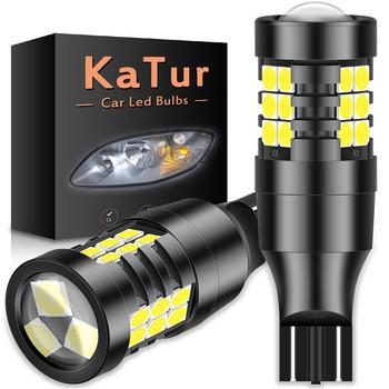 цена на 2pcs T15 W16W 920 921 LED Canbus light Bulbs Error Free COB Super bright 3030SMD led Car Backup Reverse Light lamps White DC12V