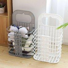 Бытовая компактная складная корзина для хранения одежды для ванной комнаты, корзина для хранения грязной одежды