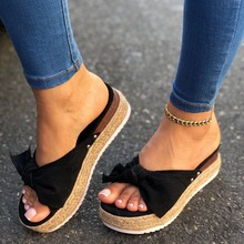 Beach Shoes Bow Slip On Shoes Woman Sandals For Women Gladiator Sandals Women Summer Footwear Flat Sandals Female Plus Size new 2017 summer women sandals breathable shoes crystal jelly nest crystal sandals female flat sandal shoes woman footwear 6238w