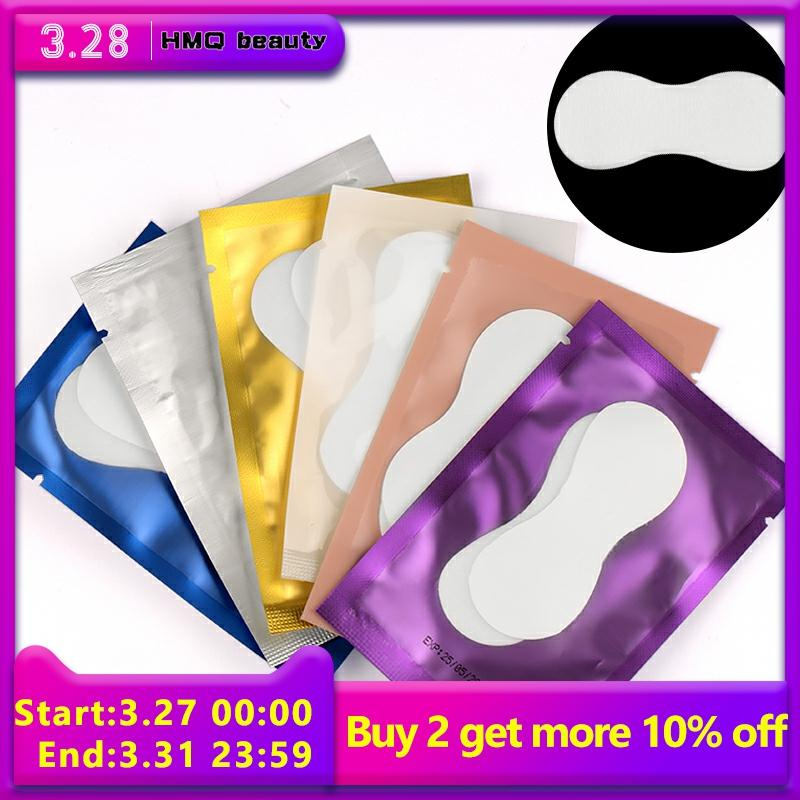 10/20Pairs New Shape Paper Patches Eyelash Under Eye Pads Lash Eyelash Extension Hydrating Eye Tips Sticker Wraps Make Up Tools