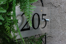Customize Custom House Number Aluminum & Acrylic Sign Outdoor and Weatherproof