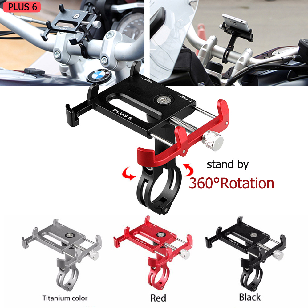 Universal Bicycle Motorcycle Phone Holder For IPhone 11 Pro Support Telephone Moto Aluminium Holder GPS Bike Handlebar Holder
