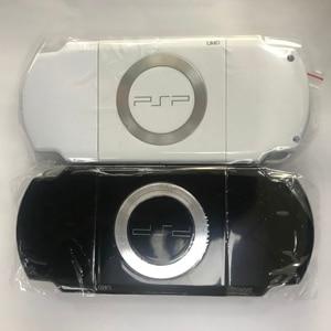 Image 4 - Miễn Phí Vận Chuyển Màu Đen Full Nhà Ở Vỏ Dán Mặt Lưng Ốp Lưng Sửa Chữa Thay Thế Cho Sony PSP 2000 2006 Tay Cầm Vỏ Có Nút Bấm