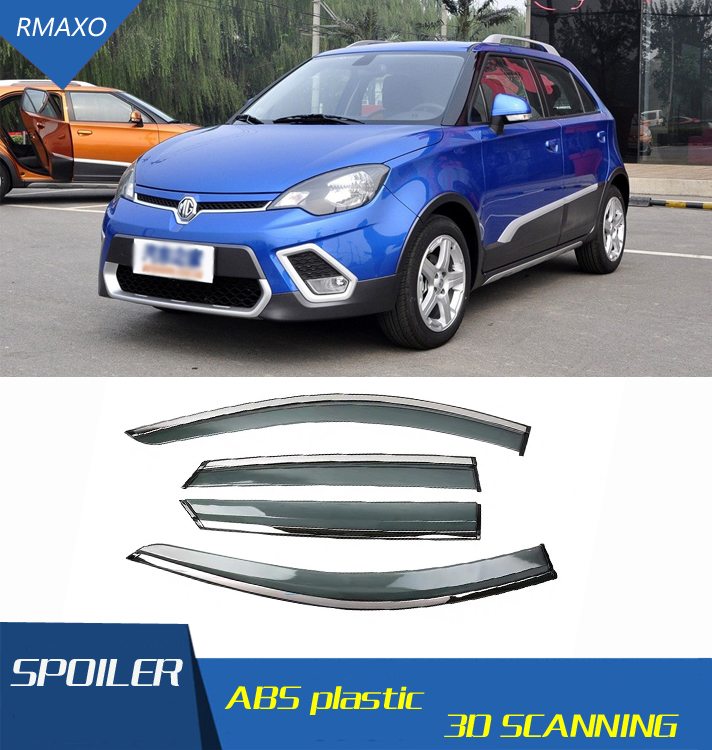 For MG3 Hatchback 2010-2016 Window Visor Vent Shades Sun Rain Deflector Guard For MG3 Auto Accessories 4PCS/SET