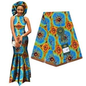Image 5 - אלגנטי אפריקה אנקרה הדפסי בטיק בד מובטח אמיתי שעוות טלאים לנשים המפלגה שמלת מלאכות 100% כותנה באיכות הטובה ביותר