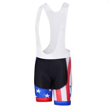 MILOTO-pantalones cortos transpirables para ciclismo almohadilla de gel 3D, ropa de ciclismo...
