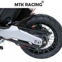 Motorcycle accessories Hugger arriere ermax+ chain hood aluminum anodized 2 parts FOR Honda X ADV X ADV 300 750 1000 2017 2019