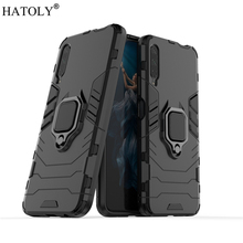 For Huawei Honor 9X Case Cover for Magnetic Finger Ring PC Phone Hard Armor