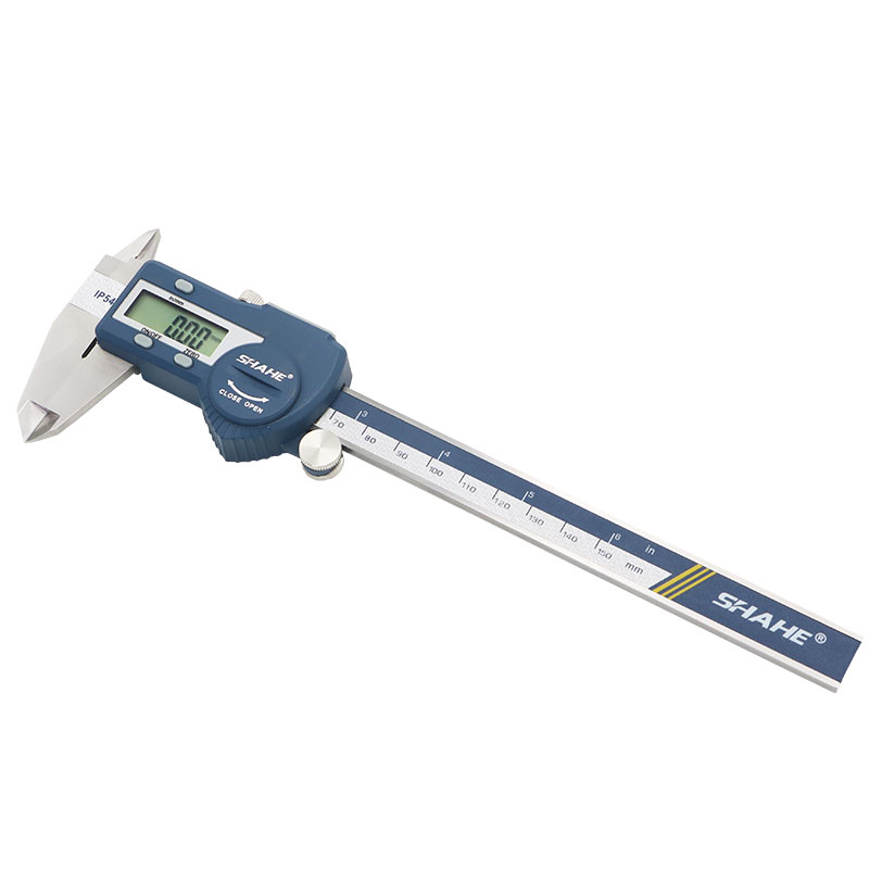 Tools : SHAHE Hardened Stainless Steel 0-150 mm Digital Caliper Messschieber Caliper Electronic Vernier Micrometro