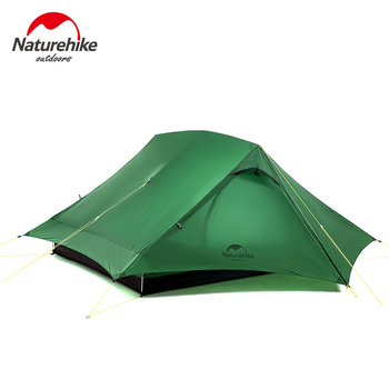 Naturehike Camping Tent Force UL 2 Person Ultralight Waterproof Folding Portable Winter Tent Fishing Hiking Outdoor Travel Tent outdoor waterproof hiking camping tent anti uv portable tourist tent ultralight folding tent pop up automatic open sun shade