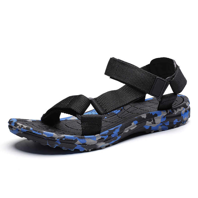Summer Men Sandals Gladiator Beach Shoes Male Camouflage Slippers Sport Water Flip Flops Sandalia Masculina Zapatos De Hombre
