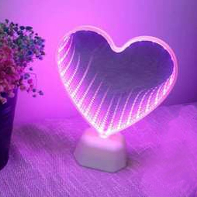 3D LED Heart with Name wish engraving-Engraving-Gift-Decoration I Love Fishing