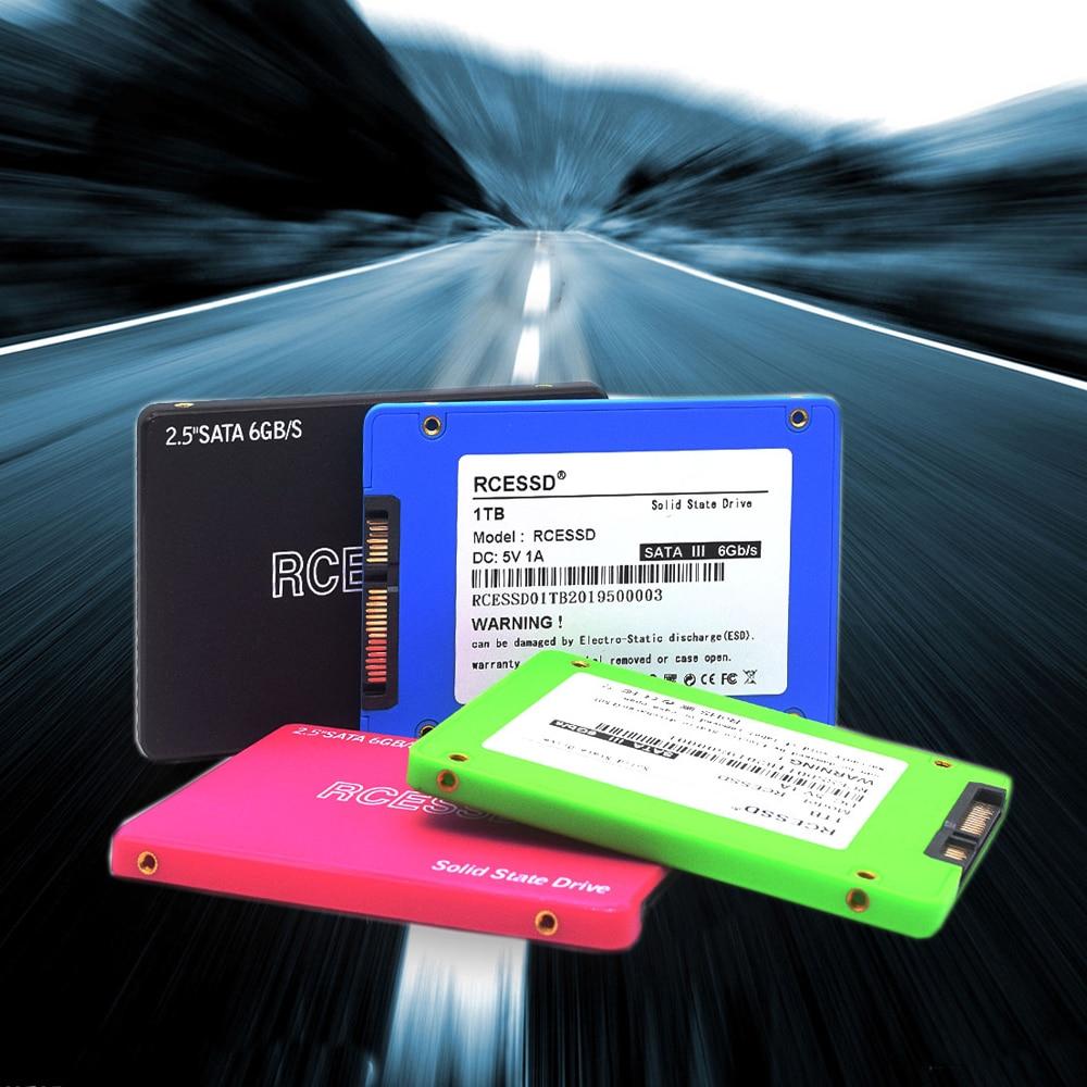 RCESSD Plastic 2.5 SATA3 SSD 120gb Ssd 240 Gb 480gb Ssd 1TB 2TB Internal Solid State Hard Drive For Laptop Hard Disk Desktop